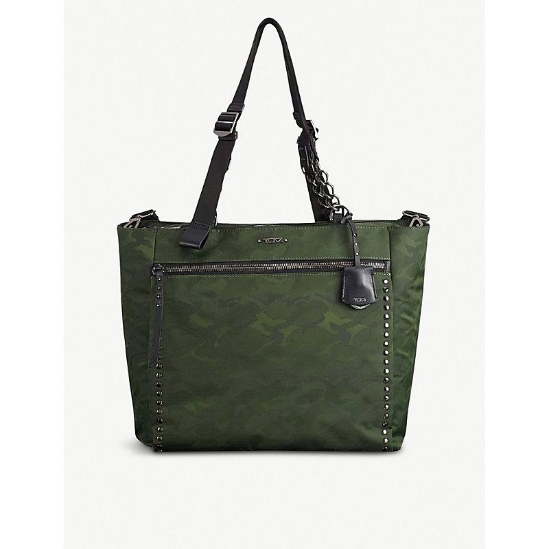TUMI | Torun Camouflage-Print Shell Tote Bag | Goxip