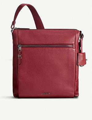 TUMI Canton leather cross-body bag