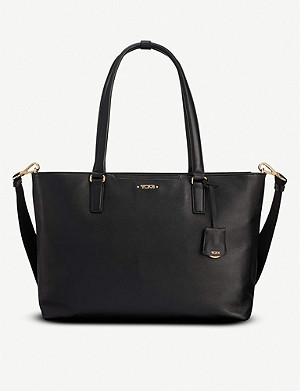 TUMI Monika leather tote bag