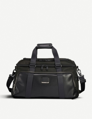 TUMI Alpha Bravo Mccoy nylon and leather gym bag