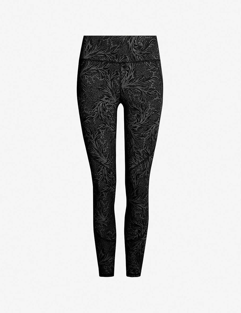f719e1b7416fe3 SWEATY BETTY - Power 7/8 floral-print stretch-jersey leggings ...