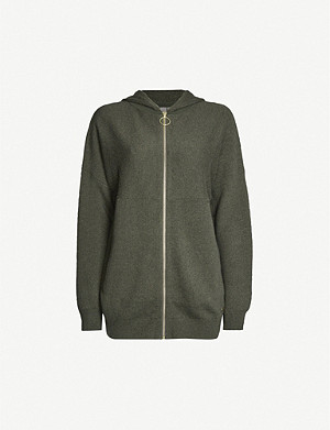SWEATY BETTY Assemble stretch-knitted drawstring hoody