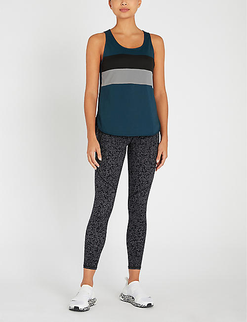 SWEATY BETTY Morgan cotton-blend top