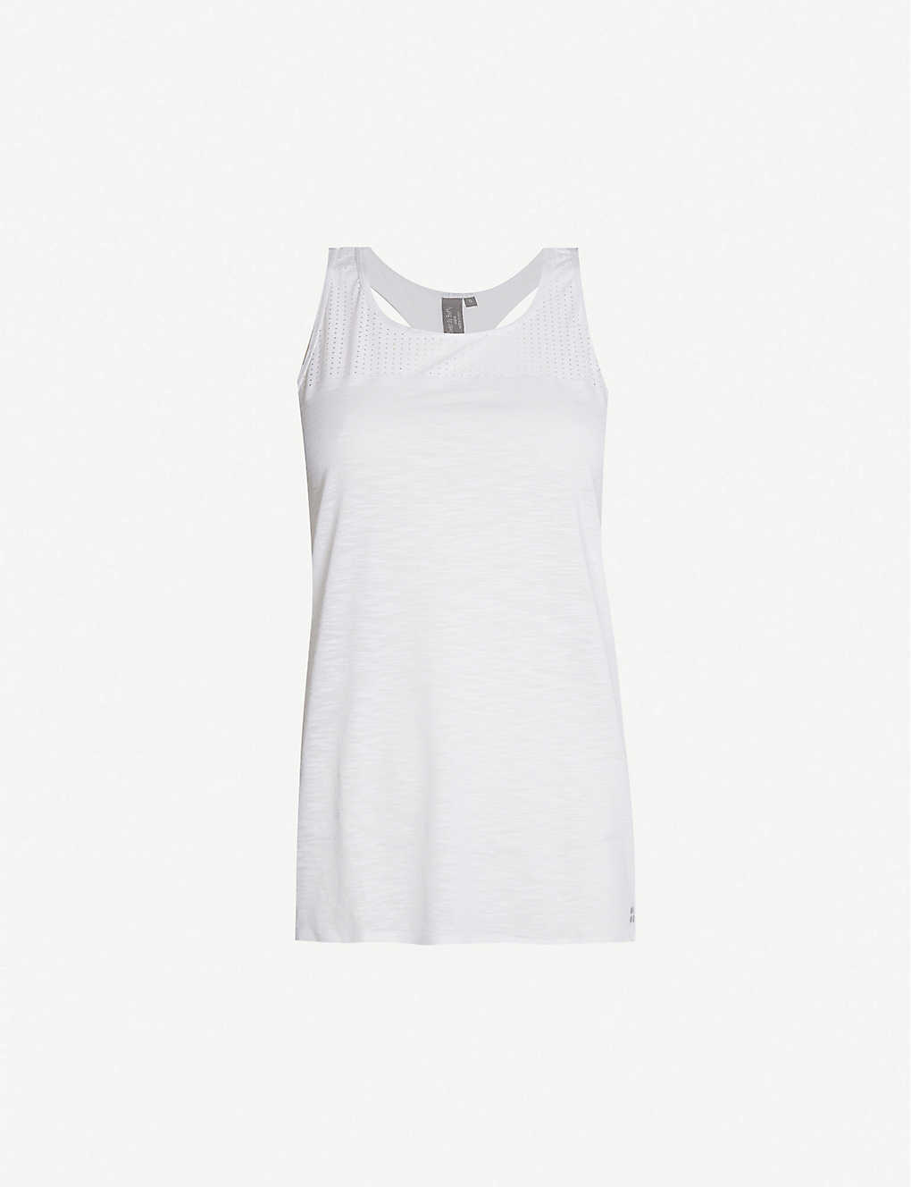 SWEATY BETTY: Breeze panelled stretch-woven top