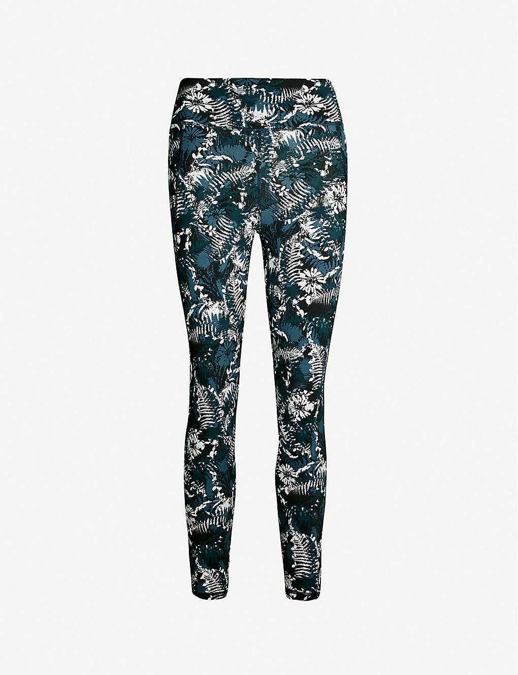 71463e9497c13a Zero Gravity stretch-jersey running leggings - Stargazer wild ...