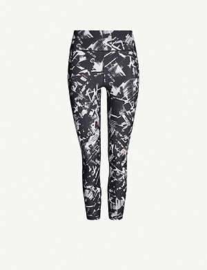 SWEATY BETTY Zero Gravity 7/8 graphic-print stretch-jersey leggings