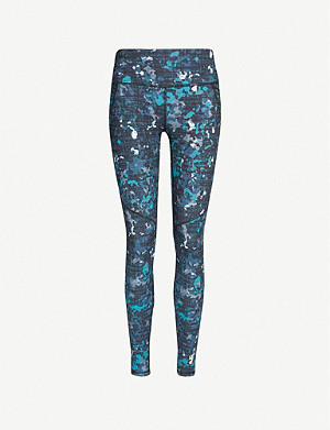 SWEATY BETTY Power Workout Pocket stretch-jersey leggings