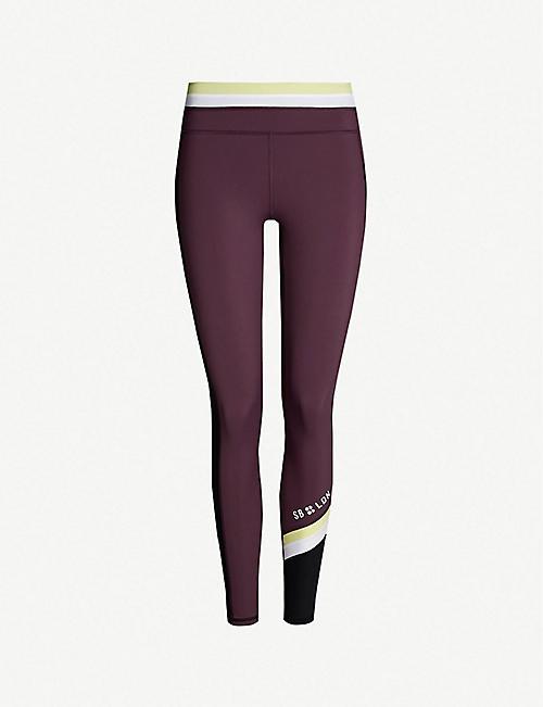 Clothing, Shoes & Accessories New Balance Womens Cropped Capri Sz S Purple Super Stretch Zip Waist Capri Delicious In Taste
