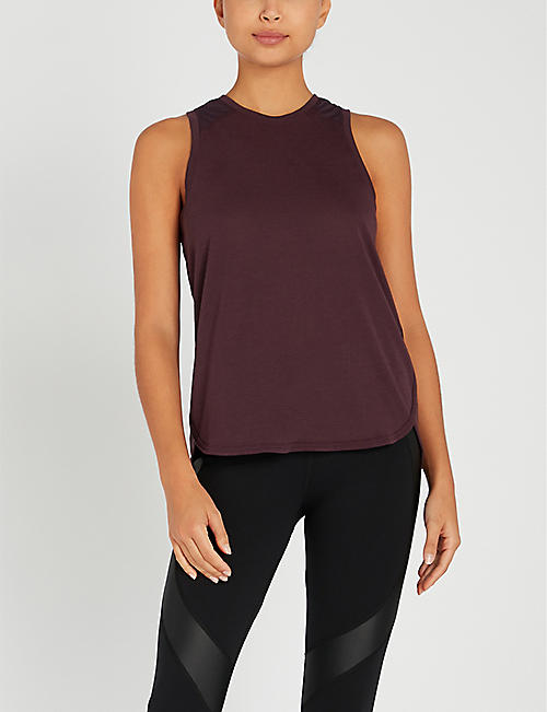 SWEATY BETTY Pacesetter stretch-jersey top