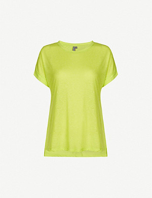 SWEATY BETTY Ab Crunch stretch-jersey T-shirt