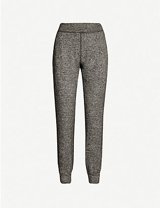 SWEATY BETTY: Garudasana stretch-jersey trousers