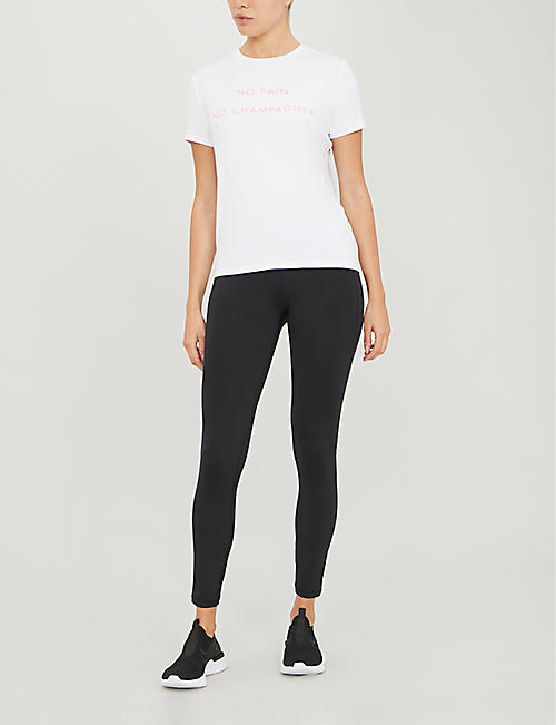 SWEATY BETTY Euphoria graphic-print stretch-modal T-shirt