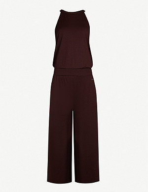 SWEATY BETTY Serenity culotte stretch-jersey jumpsuit