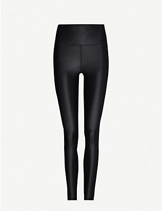 SWEATY BETTY: High Shine fitted stretch-woven leggings