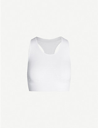 SWEATY BETTY: Stamina stretch-jersey sports bra
