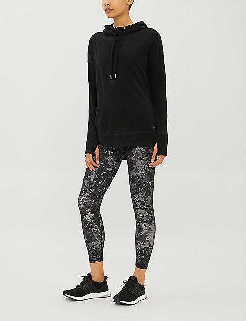 SWEATY BETTY Escape Luxe stretch-jersey hoody