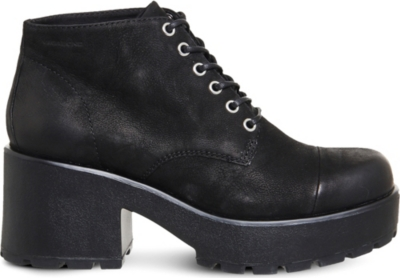 VAGABOND Dioon nubuck lace-up shoes