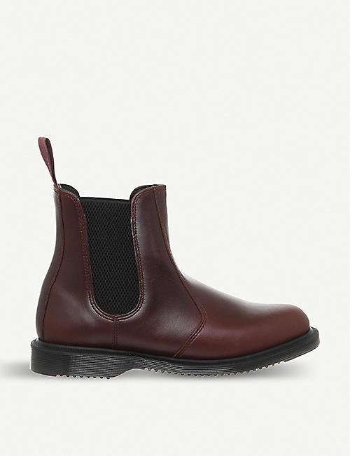 d7f74a48c8a705 DR. MARTENS Kensington Flora leather Chelsea boots