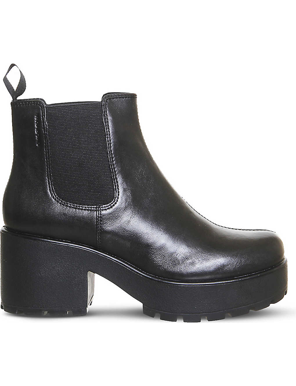 761e107e84 Dioon chunky leather Chelsea boots - Black leather ...