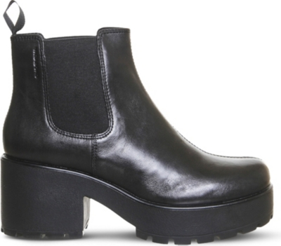 VAGABOND Dioon chunky leather Chelsea boots