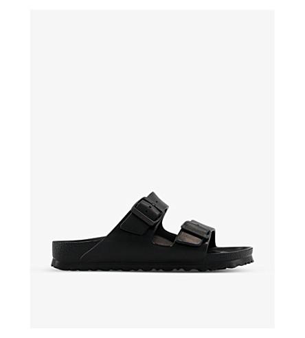 1f79f8e84617 BIRKENSTOCK Arizona faux-leather sandals (Black+eva
