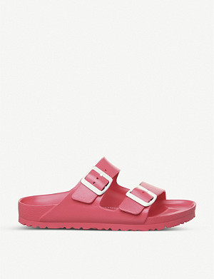 BIRKENSTOCK Arizona rubber two-strap sandals