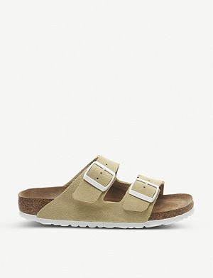 BIRKENSTOCK Arizona two-strap faux-leather sandals
