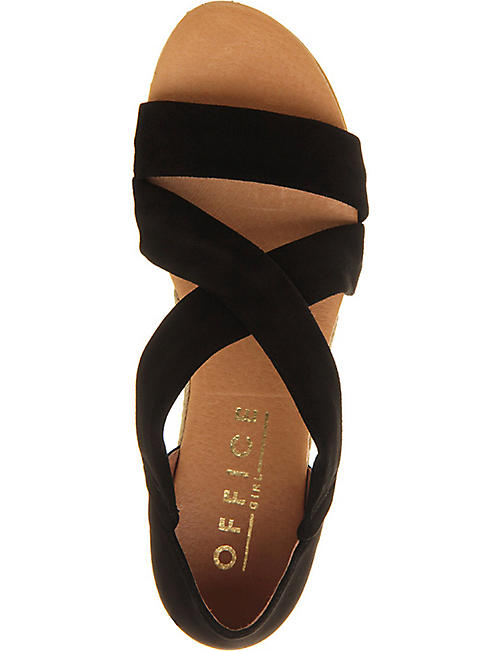 OFFICE Hallie cross-strap espradrilles