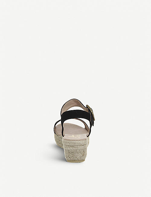 OFFICE Jyle flatform nubuck sandals