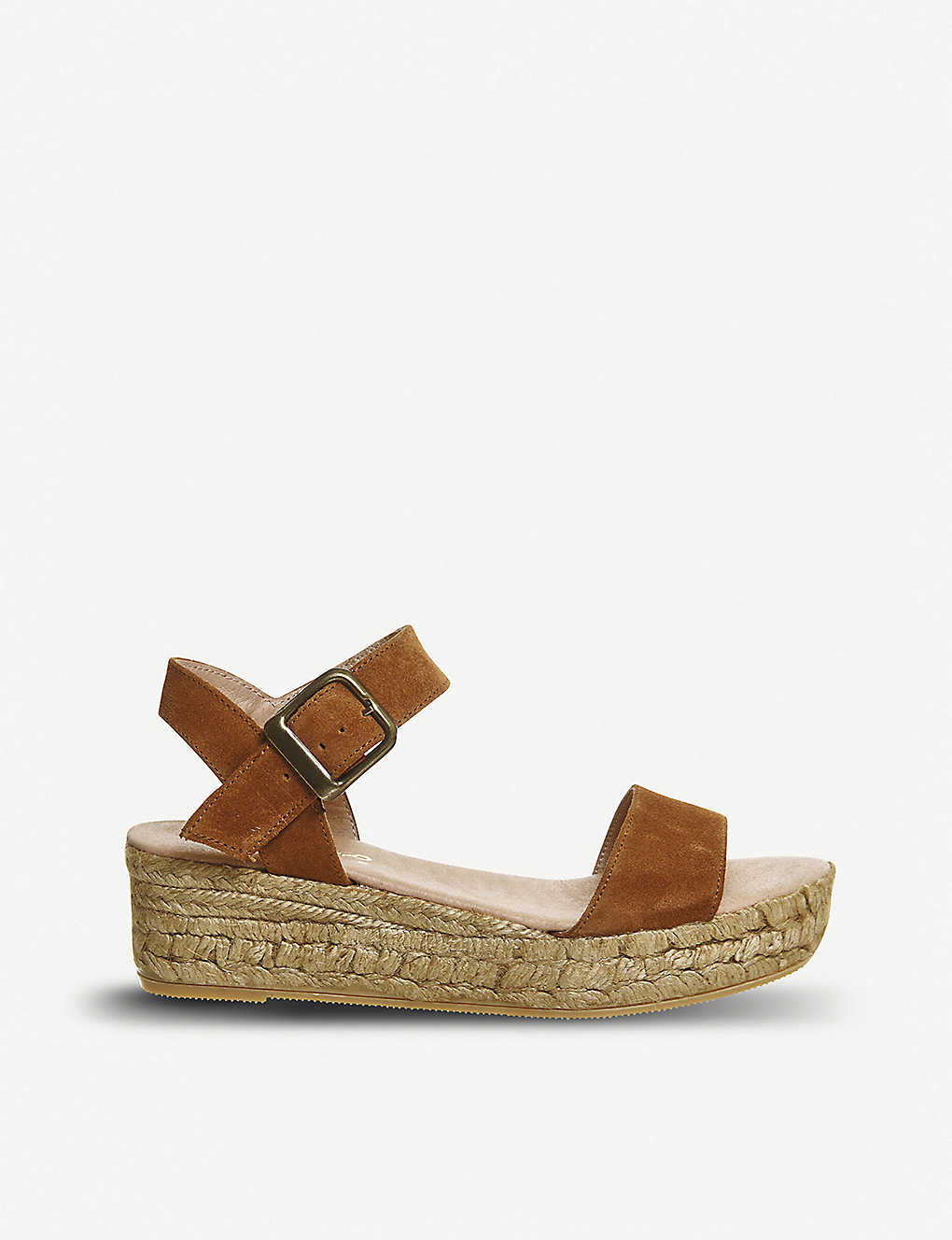 ba830334c OFFICE - Jyle flatform nubuck sandals | Selfridges.com