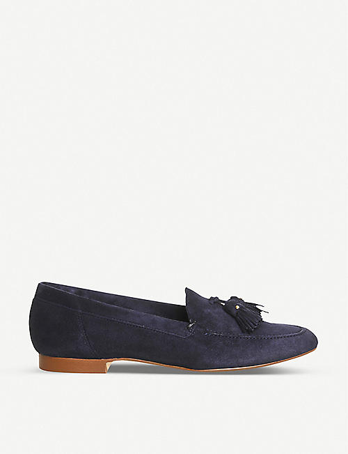 89a7ad38b29 OFFICE Retro tasselled suede loafers