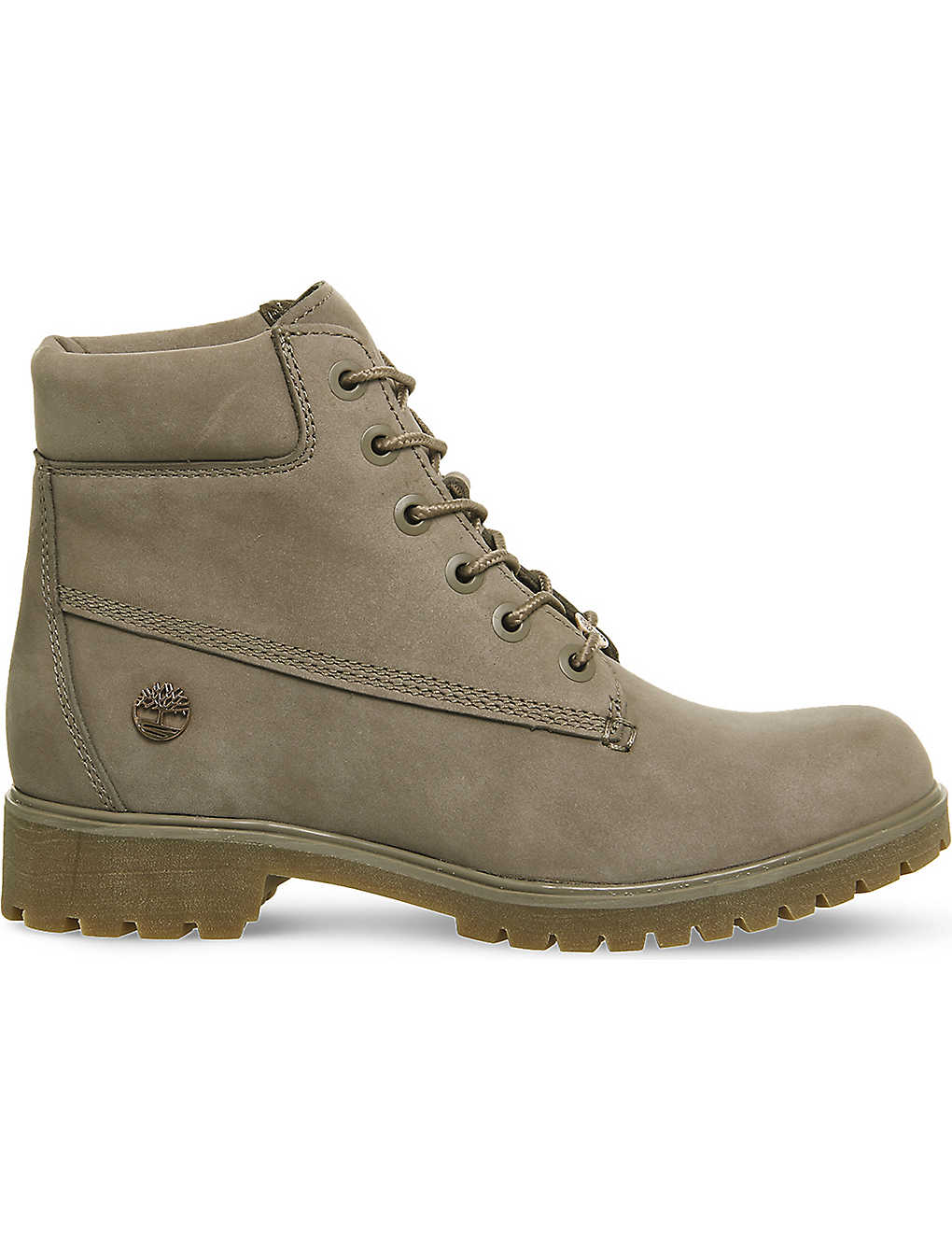 e35e30c8a4 Slim 6-inch leather boots - Pine bark nubuck ...