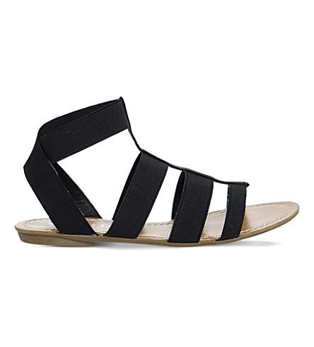 a213f1464da5 OFFICE Blaze elasticated gladiator sandals (Black+elastic