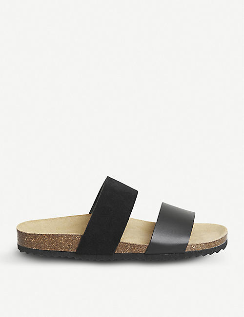 dc26c28ac94b OFFICE Oslo 2 faux-leather slider sandals