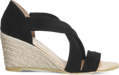 OFFICE Maiden cross strap wedges