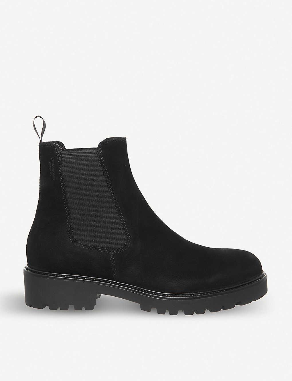 f06eaa22689 Kenova waxed suede Chelsea boot