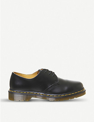DR. MARTENS: 1461 3-eyelet leather shoes