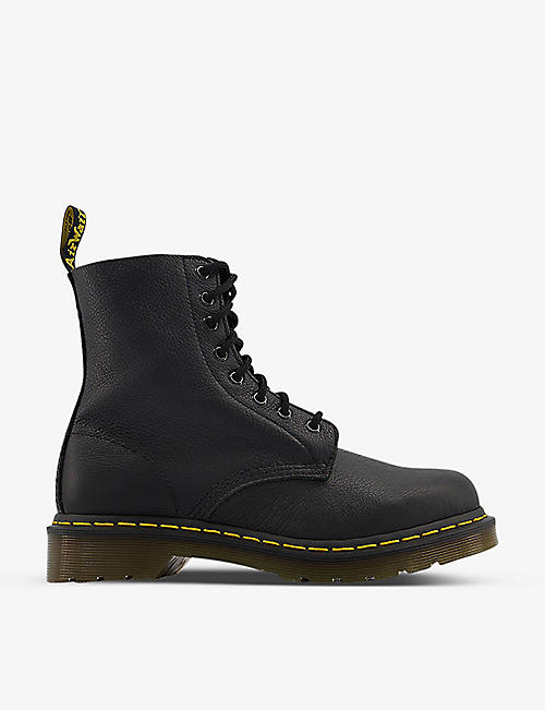 DR. MARTENS: 8-eyelet leather boots
