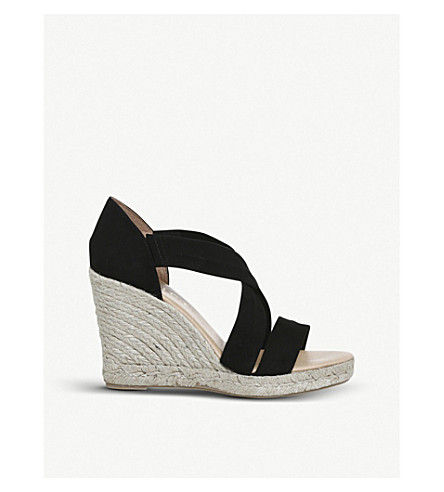 e503c9c4fd1 OFFICE - Holiday suede espadrille wedge heel sandals