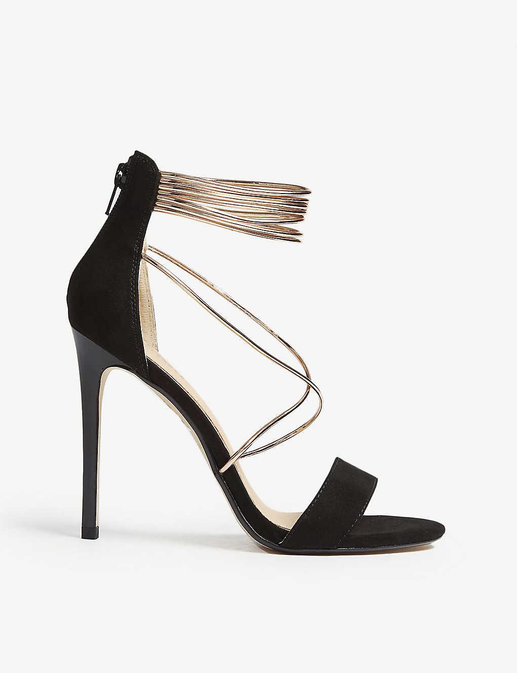 0f03cb40ec OFFICE - Hollywood tubular strap heeled sandals | Selfridges.com