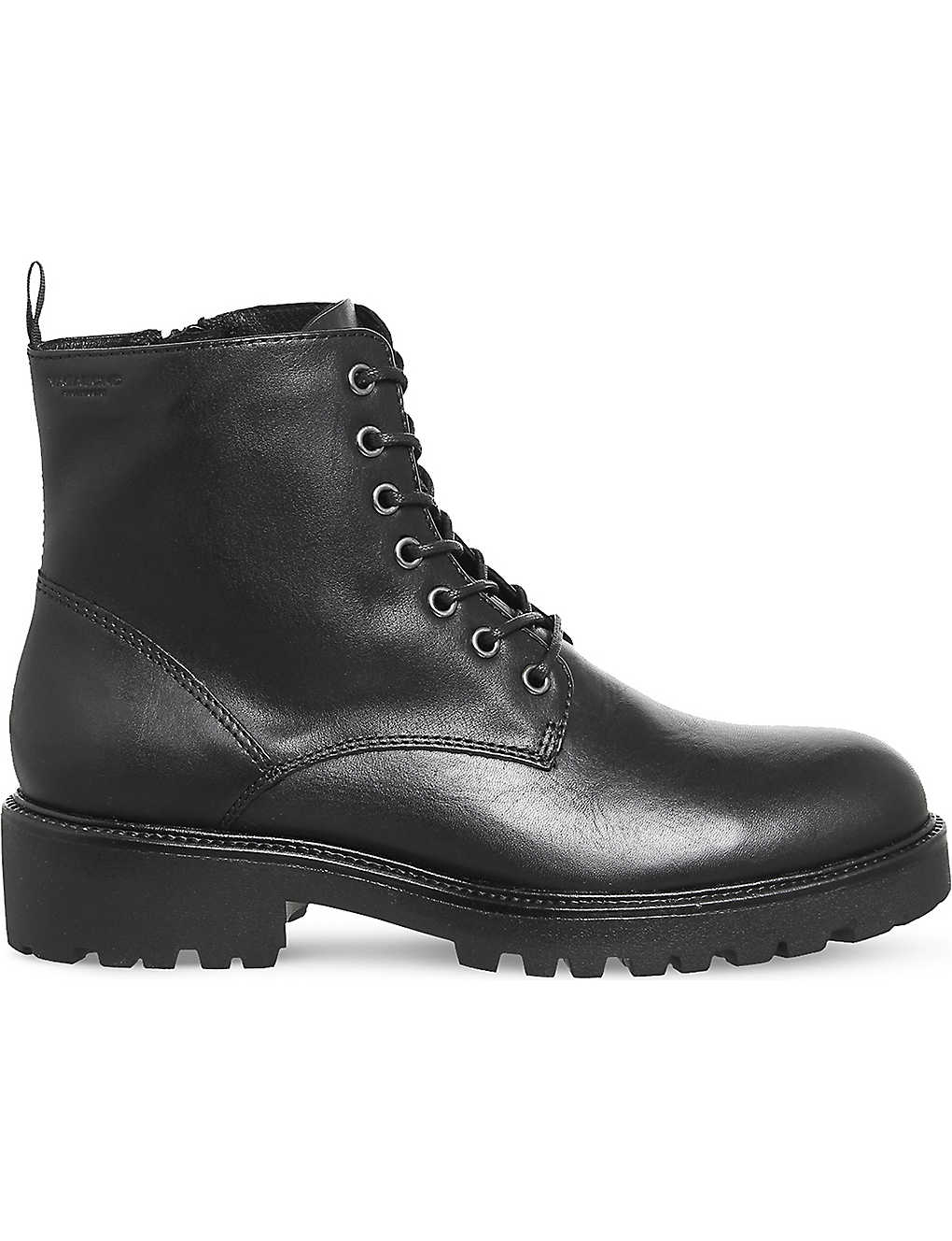ef1875dae8 Kenova leather boots - Black leather ...