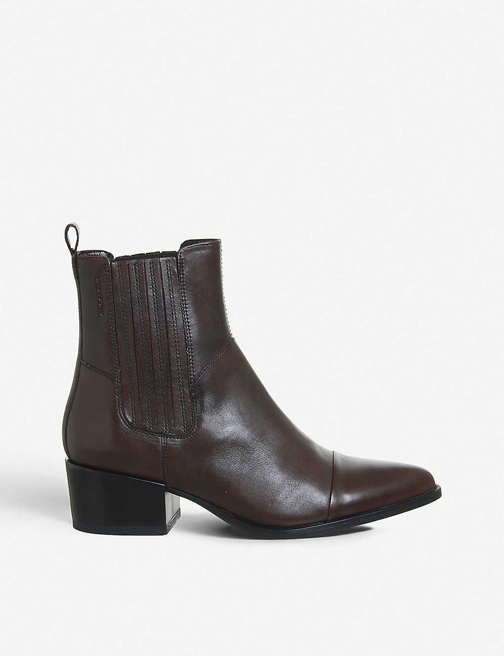 24b4f9e77461 Marja leather boot - Espresso leather ...