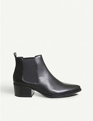 VAGABOND: Marja leather ankle boots