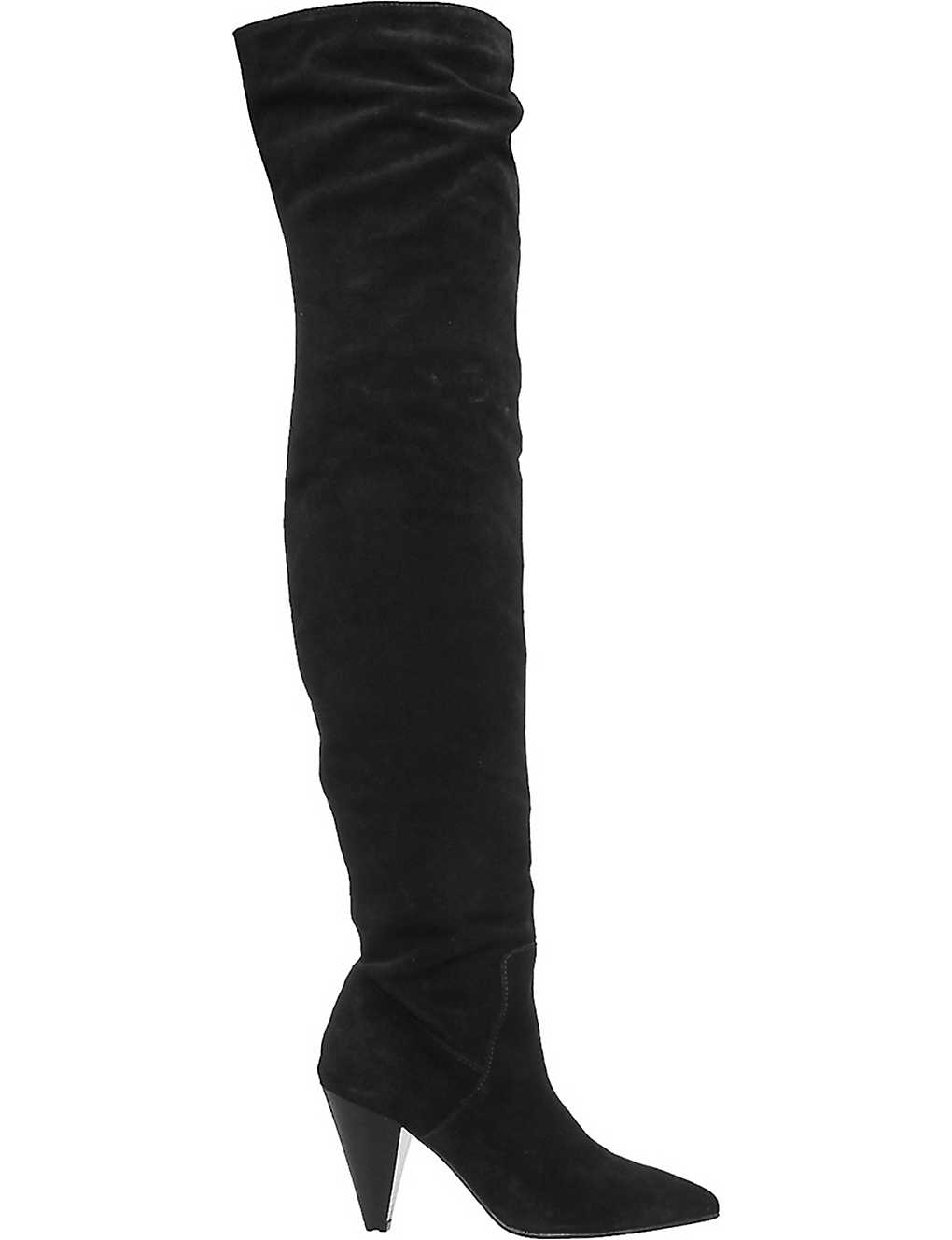 OFFICE - Kone slouch over-the-knee boots | Selfridges com