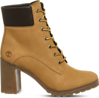 TIMBERLAND Allington 6 leather heeled ankle boots
