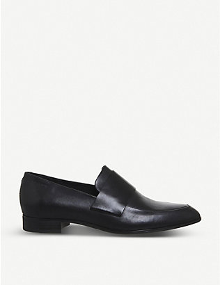 VAGABOND: Frances leather loafers