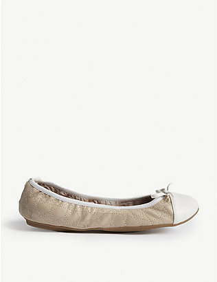 BUTTERFLY TWISTS: Olivia 2 quilted folding ballett flats