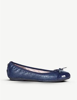 BUTTERFLY TWISTS: Olivia quilted ballerina shoes