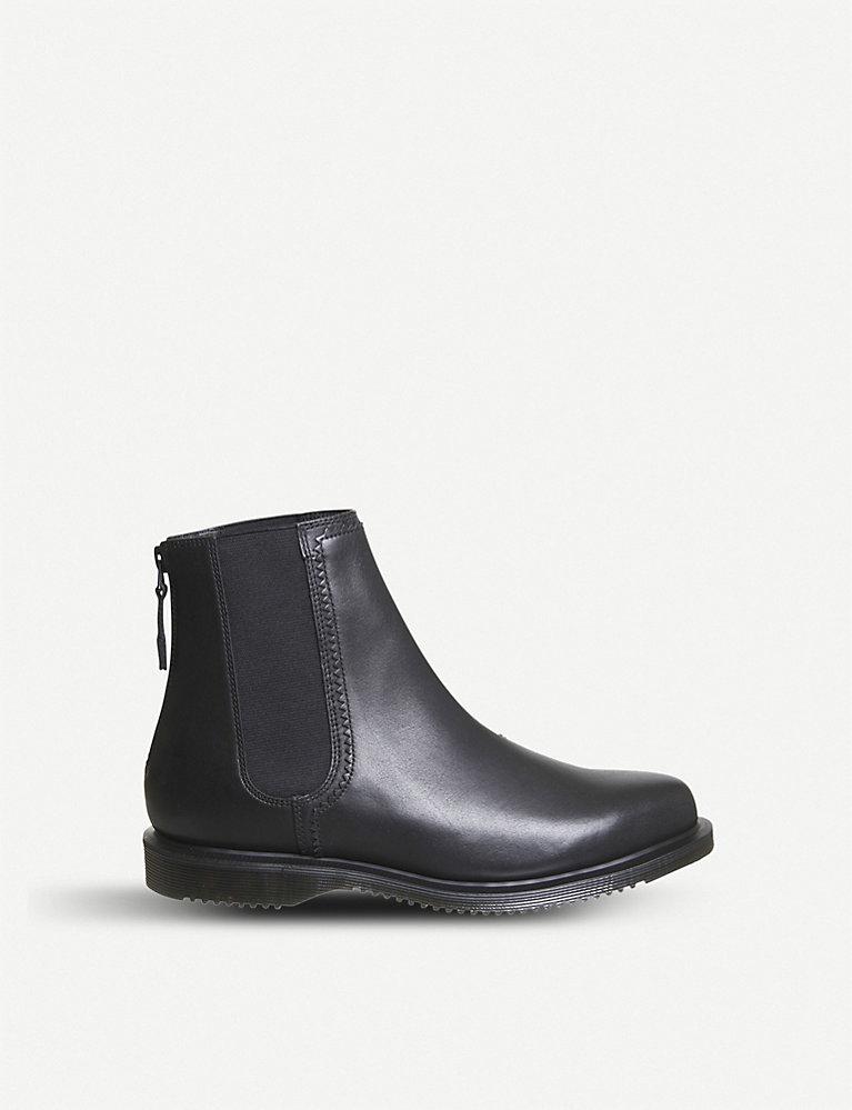 b1ac2b911c8 DR. MARTENS - Zillow zipped leather Chelsea boots   Selfridges.com