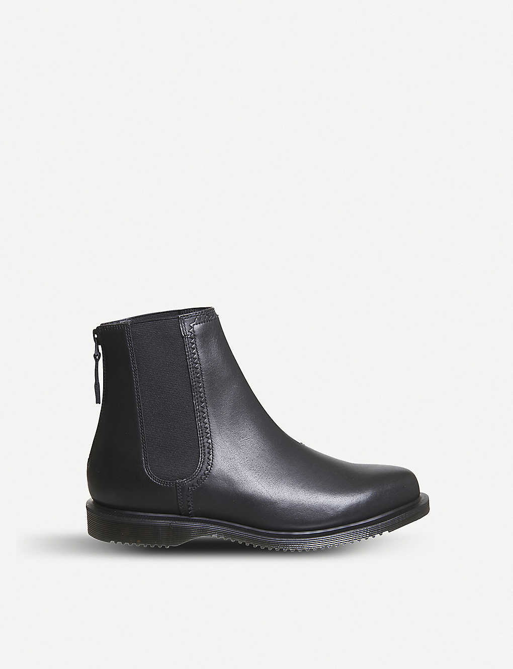 f38b91e9b42 DR. MARTENS - Zillow zipped leather Chelsea boots